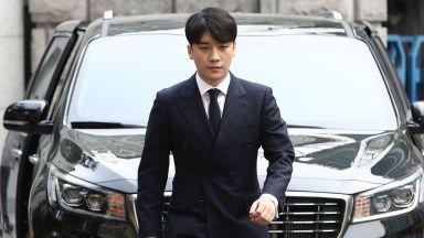 Осъдиха k-pop звездата Сеунгри на 3 г. затвор за сводничество (видео)
