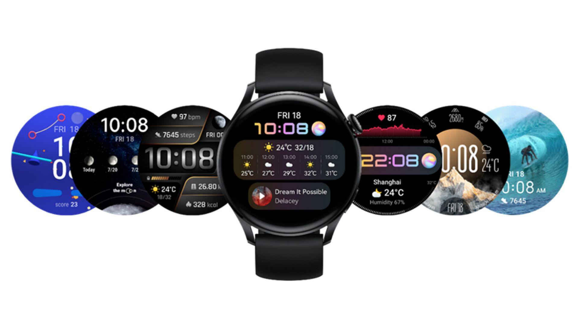 Серията HUAWEI WATCH 3 предлага богатство от интерактивни циферблати – от разучаване на Космоса и Луната до видеоигри