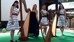 """Вълшебната арфа на Яна Дойнова в образователен концерт за """"малчугани и великани"""""""