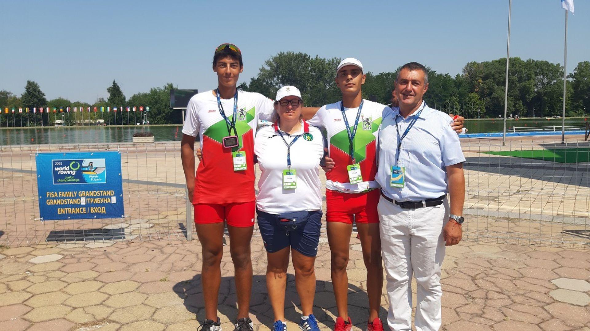 Българска лодка е на финал на Световното в Пловдив