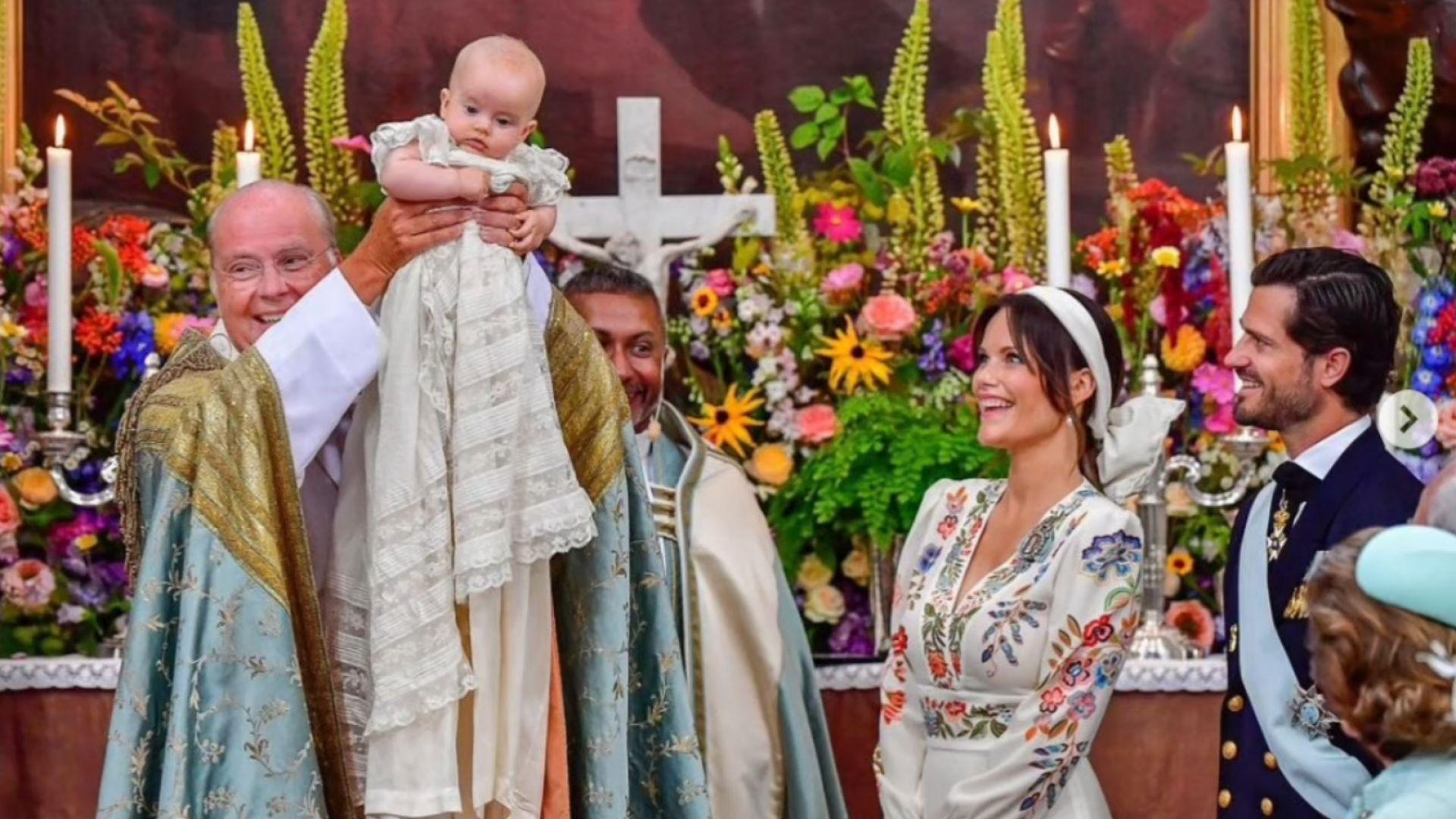 Шведският принц Карл Филип и съпругата София кръстиха третия си син (снимки и видео)