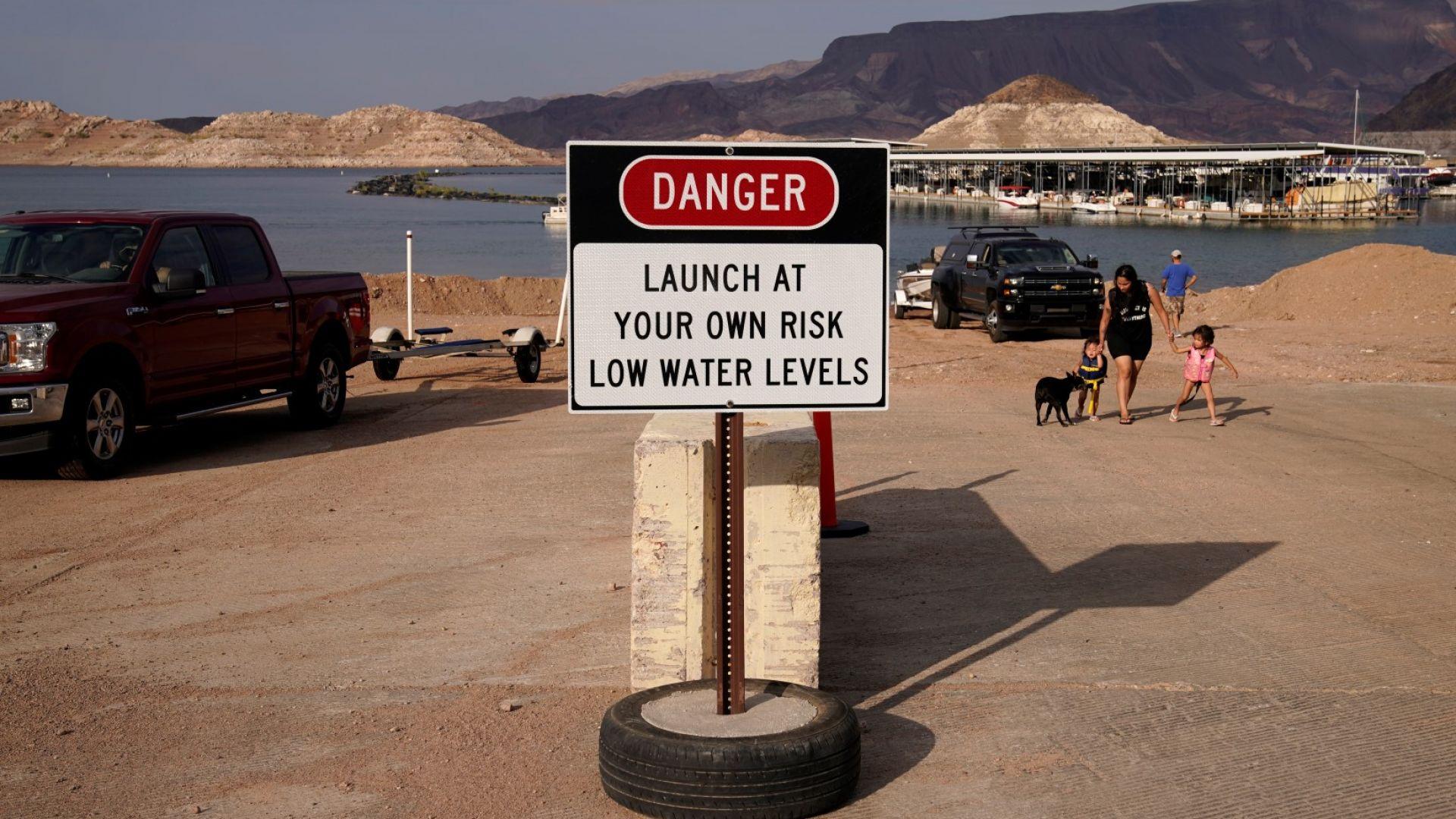 Властите предупреждават за опасност заради ниското ниво на язовира