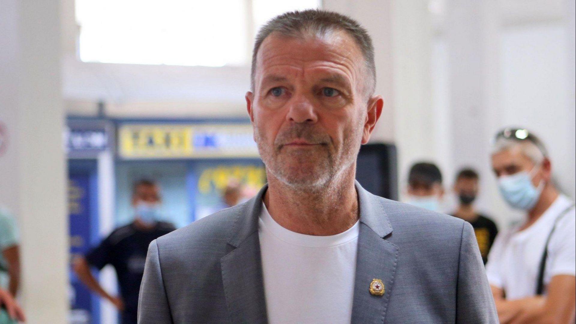 Стойчо Младенов: Отиваме в Рим да защитим имиджа на ЦСКА