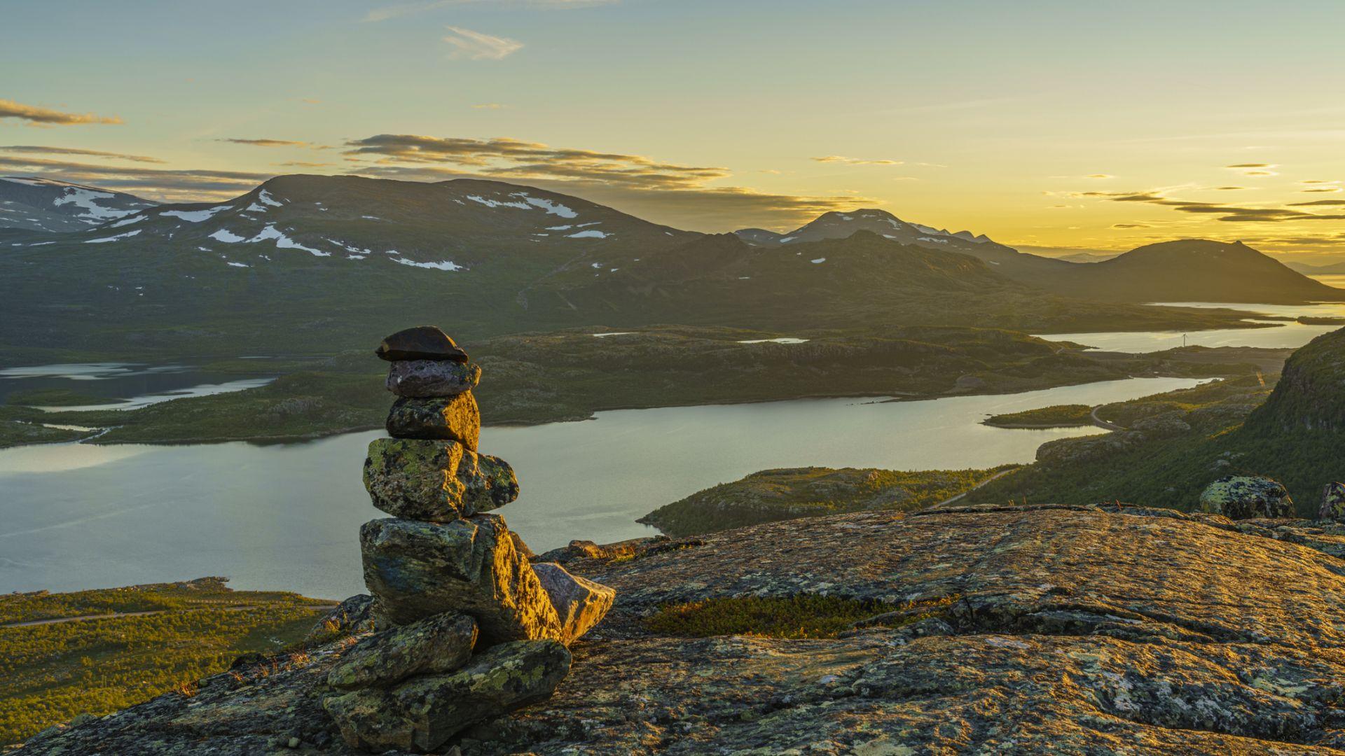 Височината на връх в Швеция  намаля с два метра заради  затоплянето