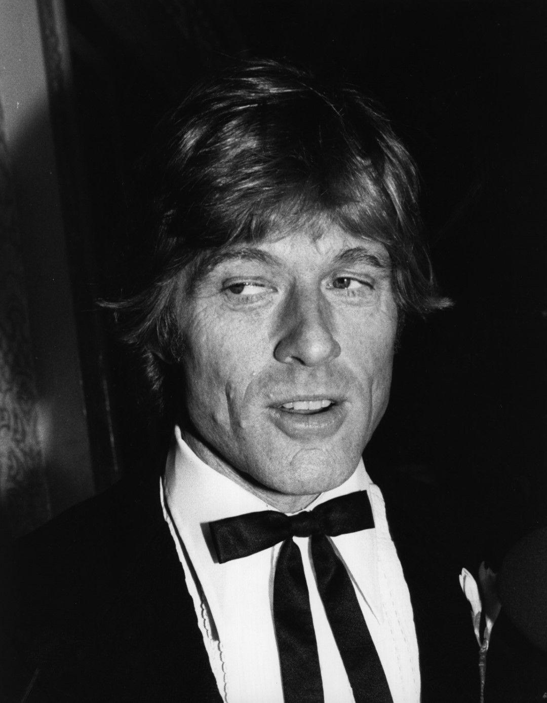 Робърт Редфорд на пресконференция през 1988 г.