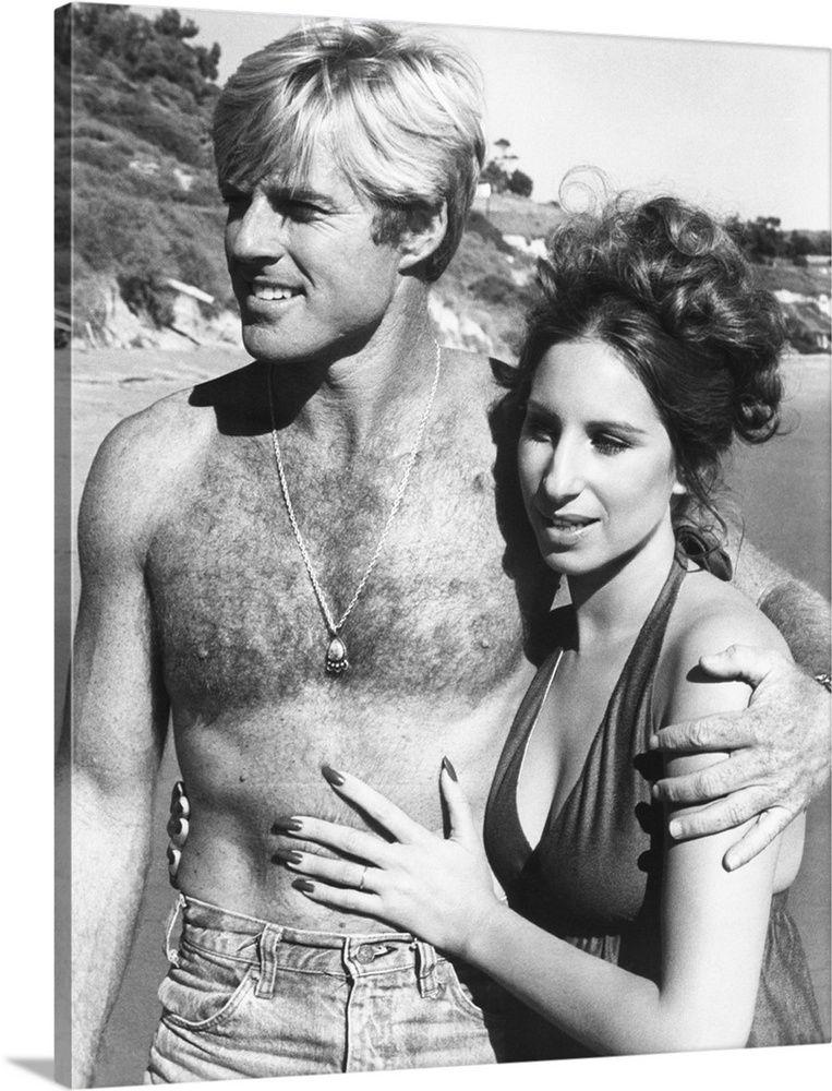 """Робърт Редфорд с Барбра Стрейзанд във филма """"Каквито бяхме"""" (1973)"""
