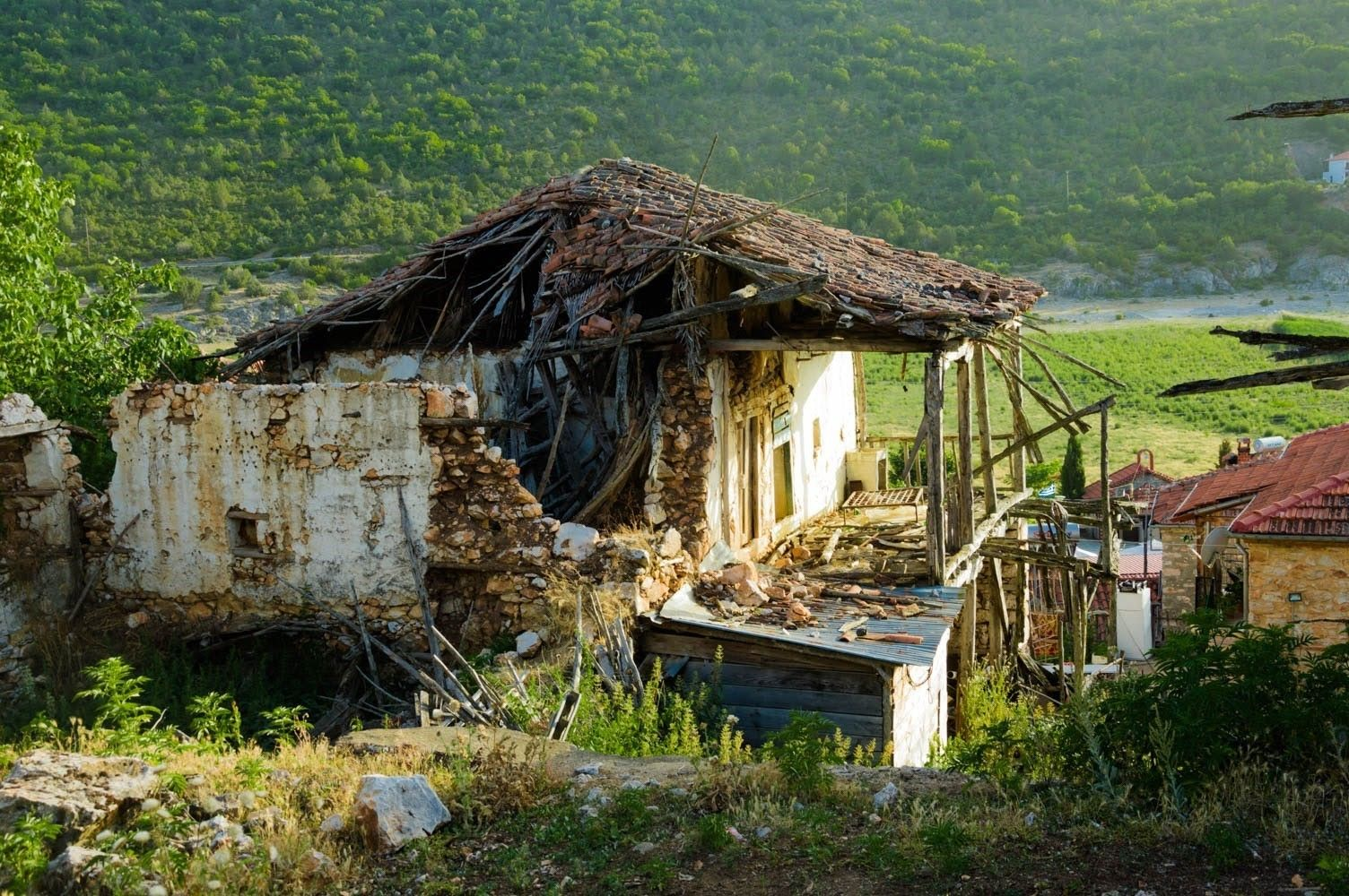 Много от къщите са отдавна забравени от собствениците си