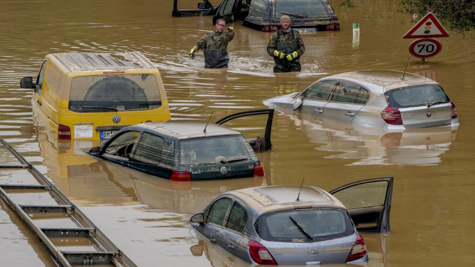Банките в Германия ще могат да отлагат погасяване на кредити от пострадали при наводненията