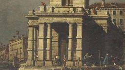 Изгубена картина на Каналето бе открита в дома на британка