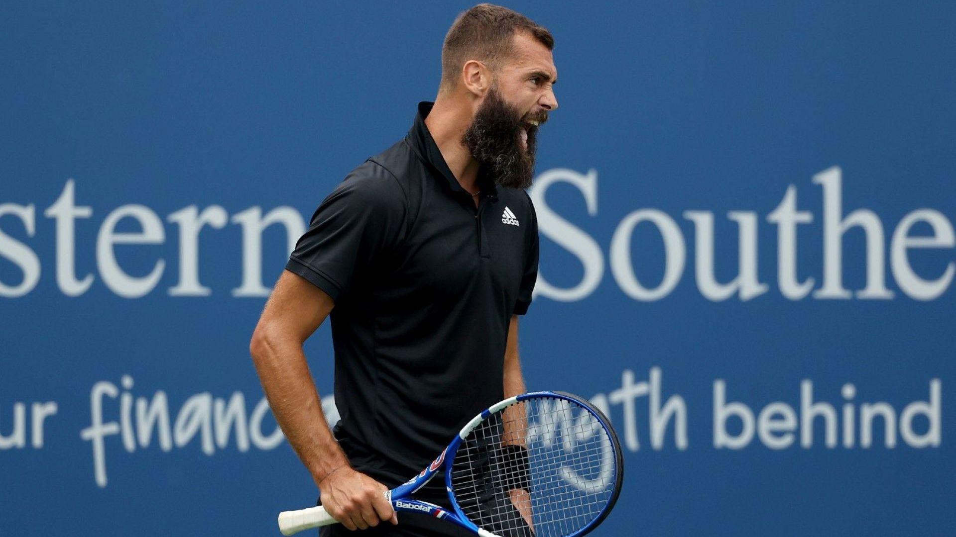 """Пер взе приза си """"Мистър Sofia Open"""" и набързо отпадна от турнира"""