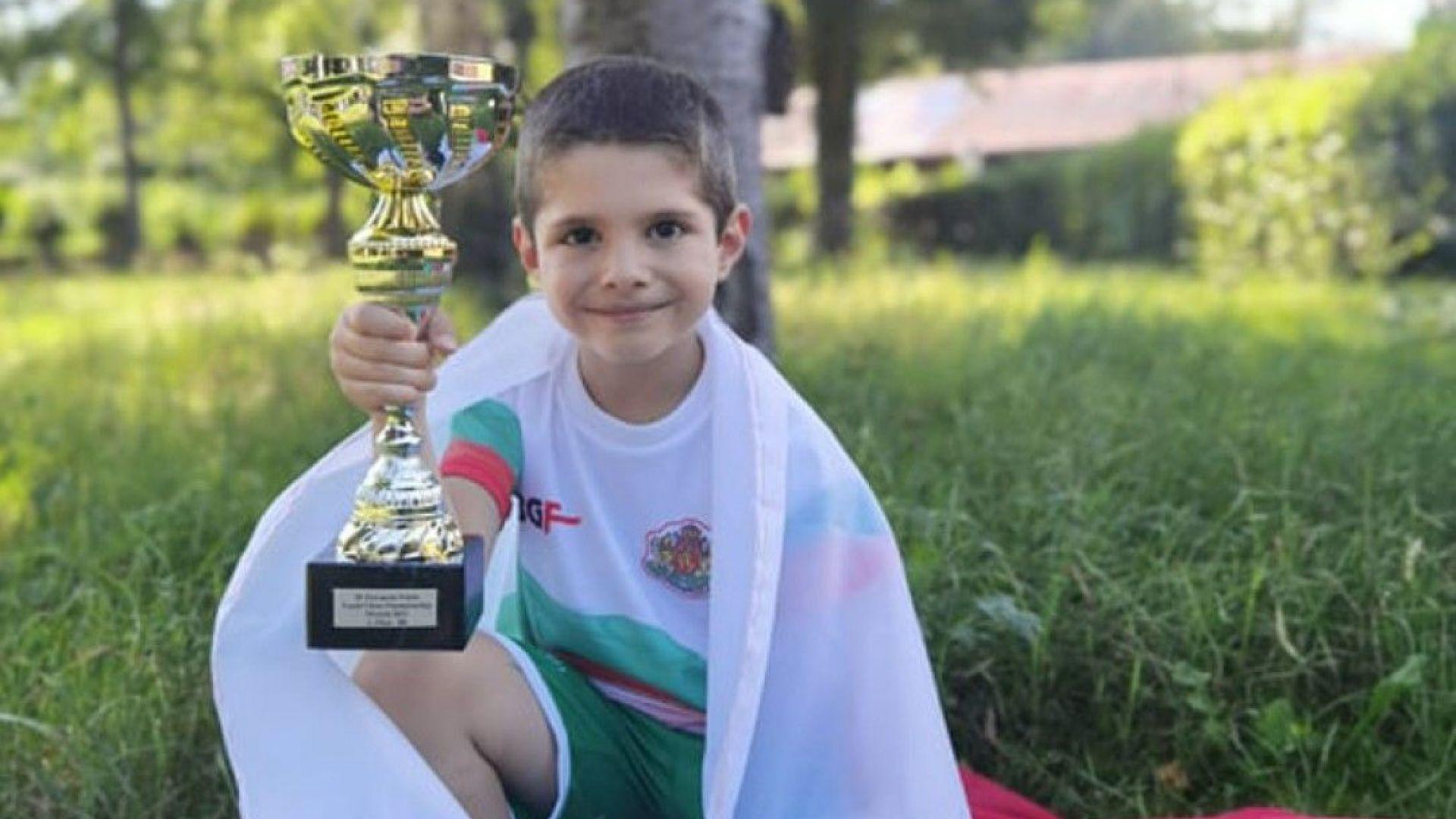 Българче има 27 медала на 6 г., а вече е и вицешампион на Европа по шахмат