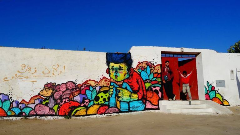 """""""Колоритни престъпления"""" в Мароко-най-бленувата стрийт арт сцена"""