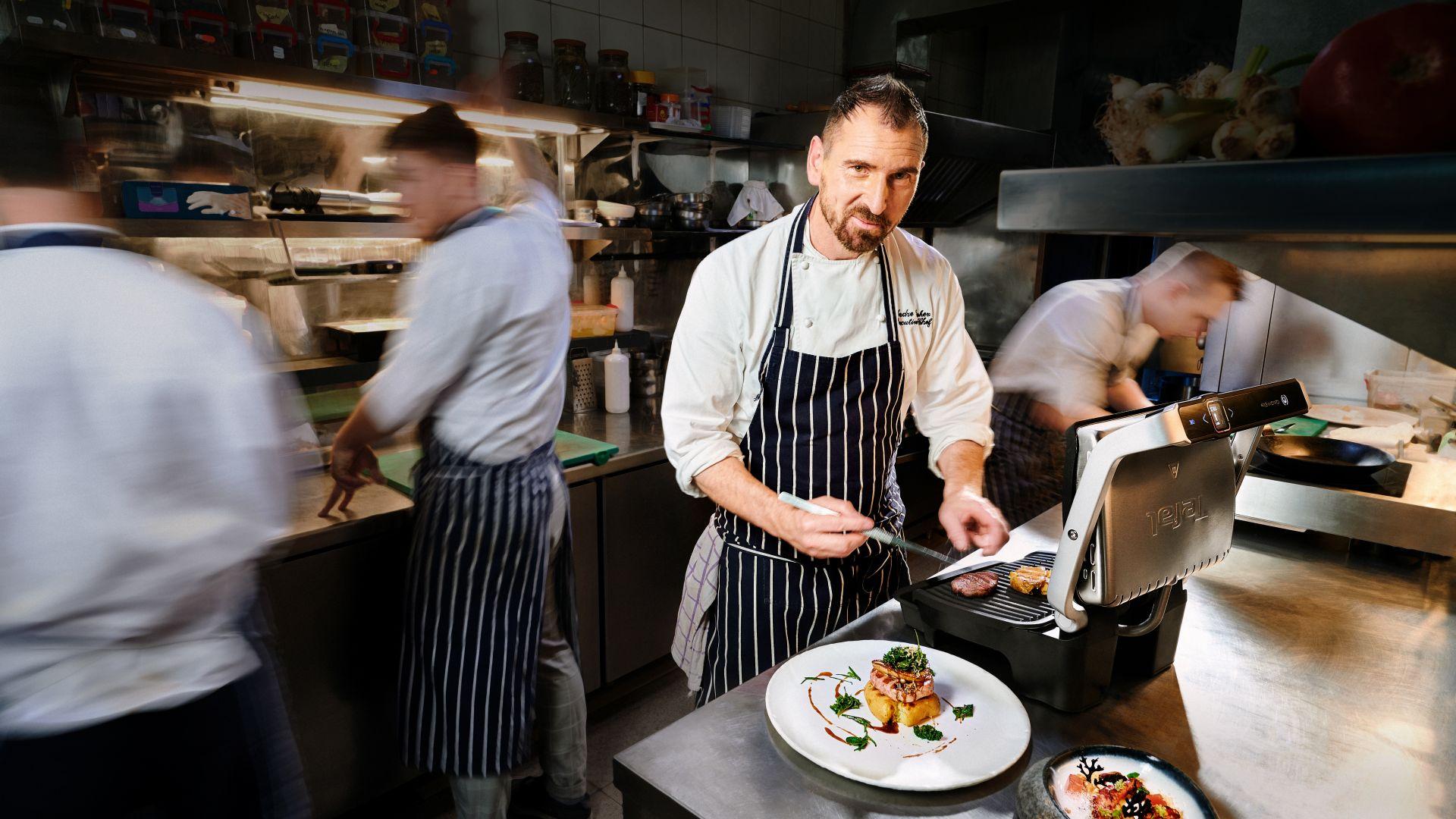 Chef Андре Токев с изненадващ грил експеримент