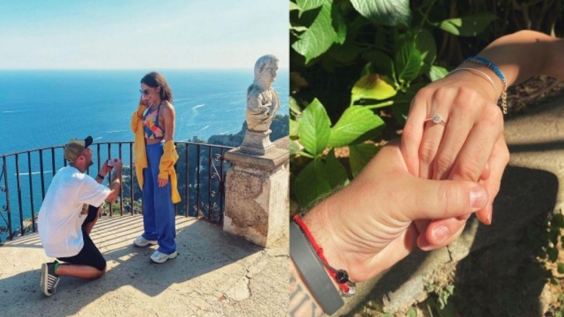 Златната Симона Дянкова се сгоди в Италия (снимки)