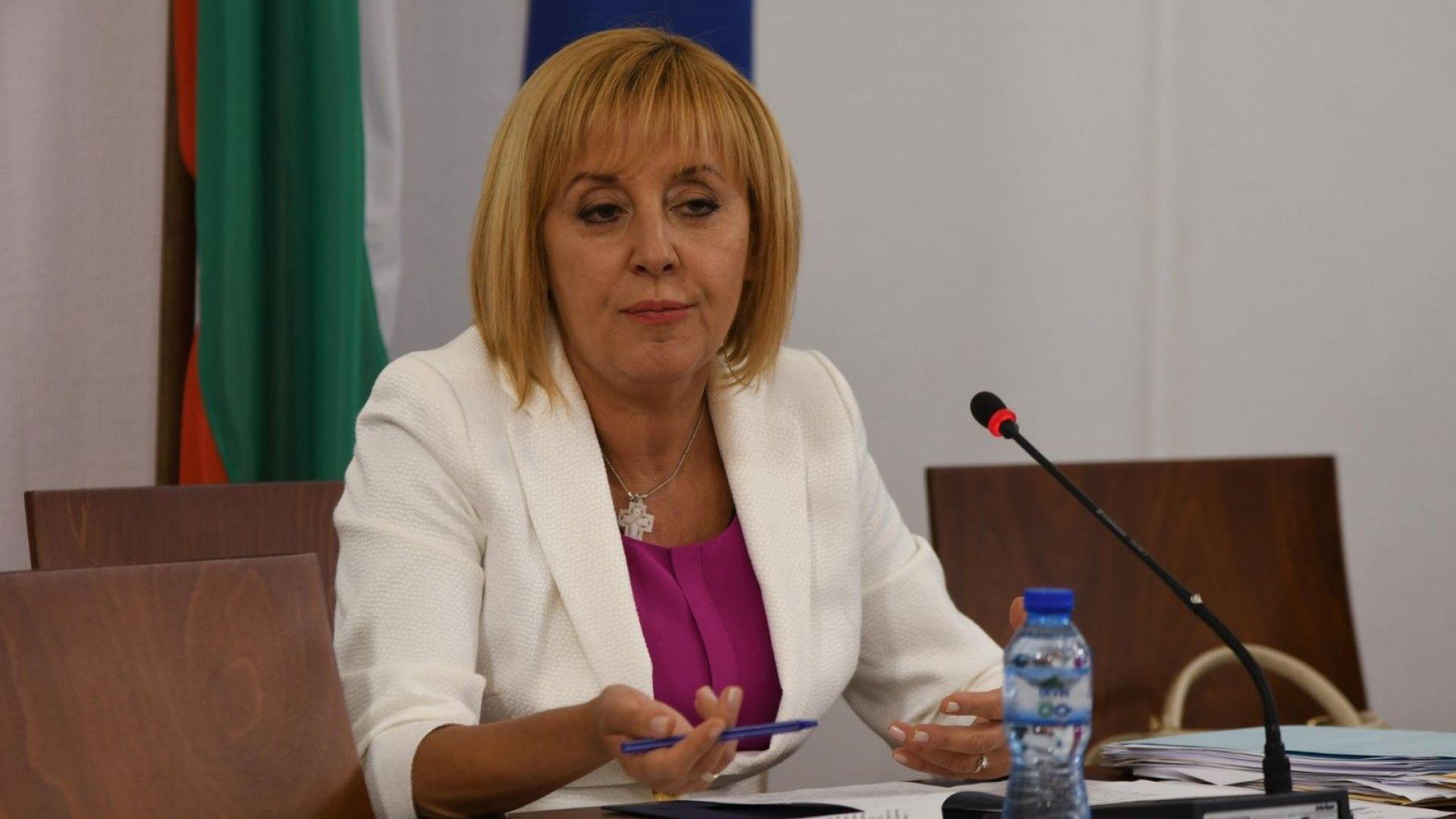 Мая Манолова иска държавни компенсации за скока на тока