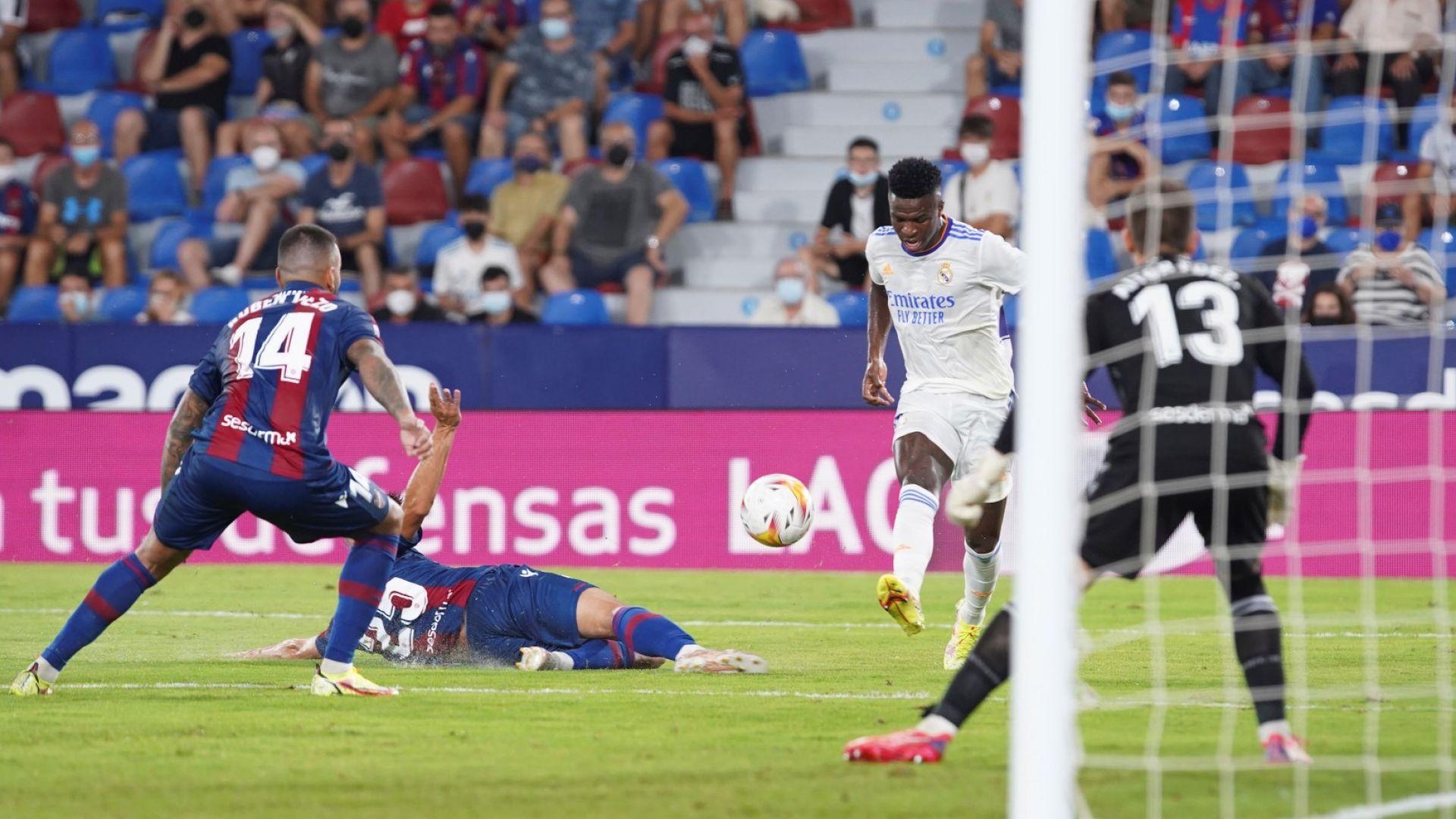 Бразилец спаси с късен гол Реал от първа загуба