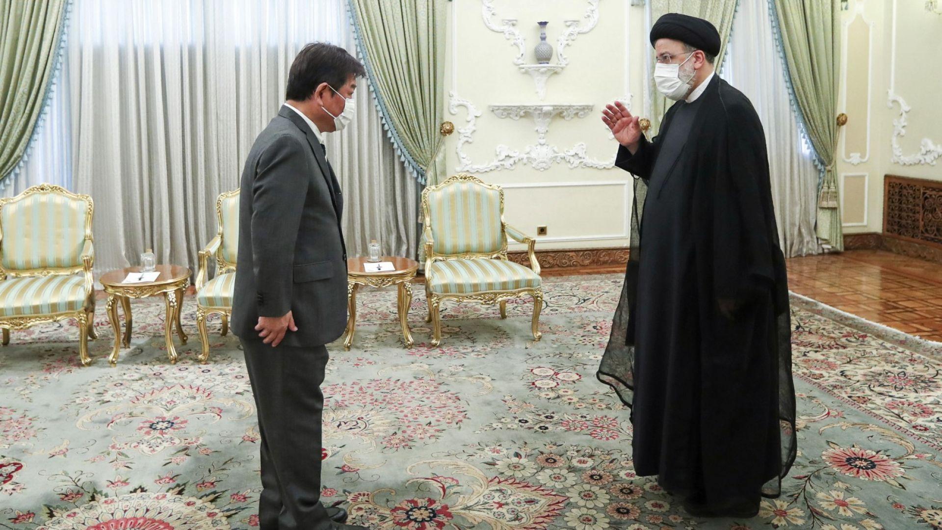 Иран призова Япония да освободи милиарди долари блокирани активи