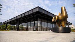 Новата национална галерия беше открита в Берлин след продължил шест години ремонт