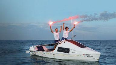 Вдъхновяващата история на Максим и Стефан Иванови, прекосили Атлантическия океан с гребна лодка