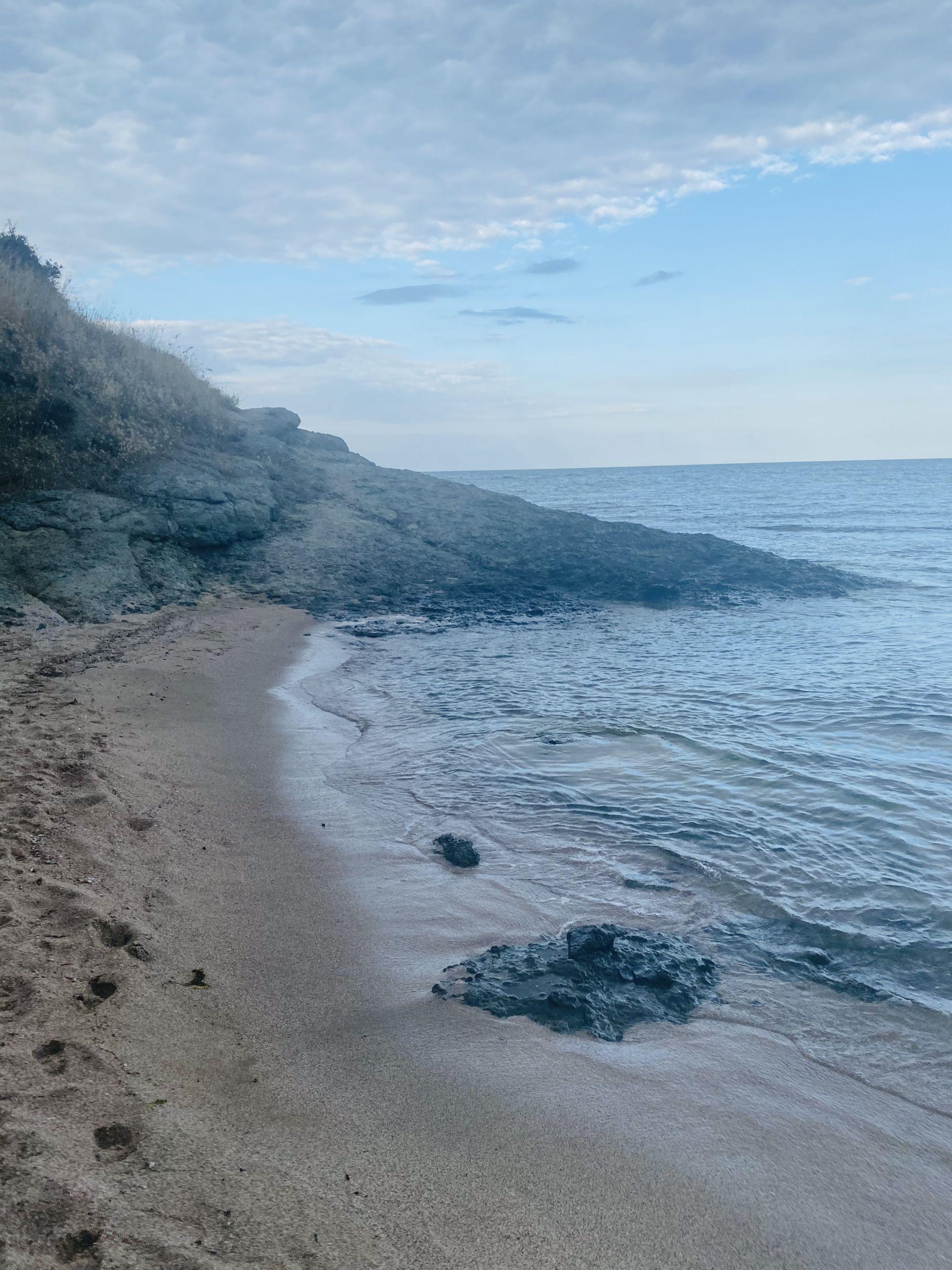 Краят на плаж Юг