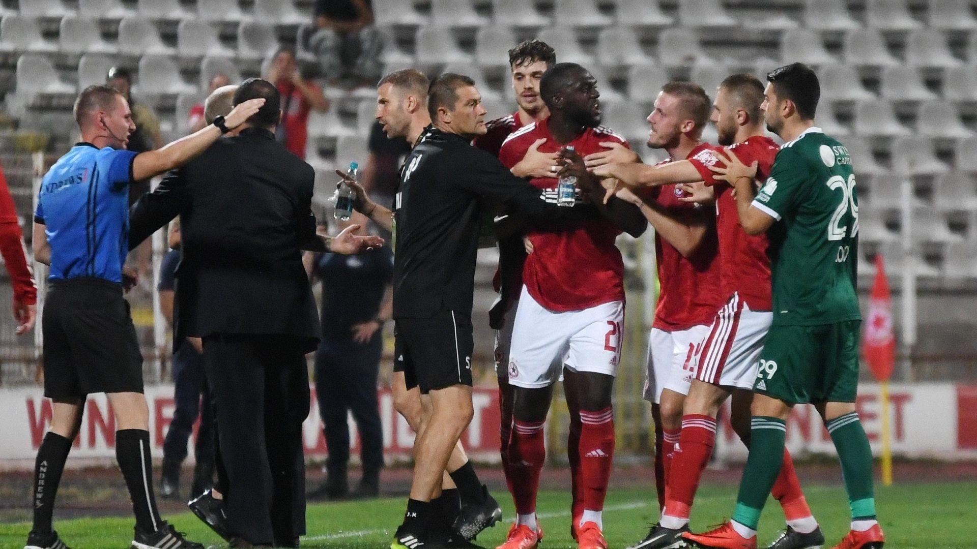 БФС реши: 5 мача наказание и 37 500 глоба след расисткия скандал на ЦСКА - Пирин