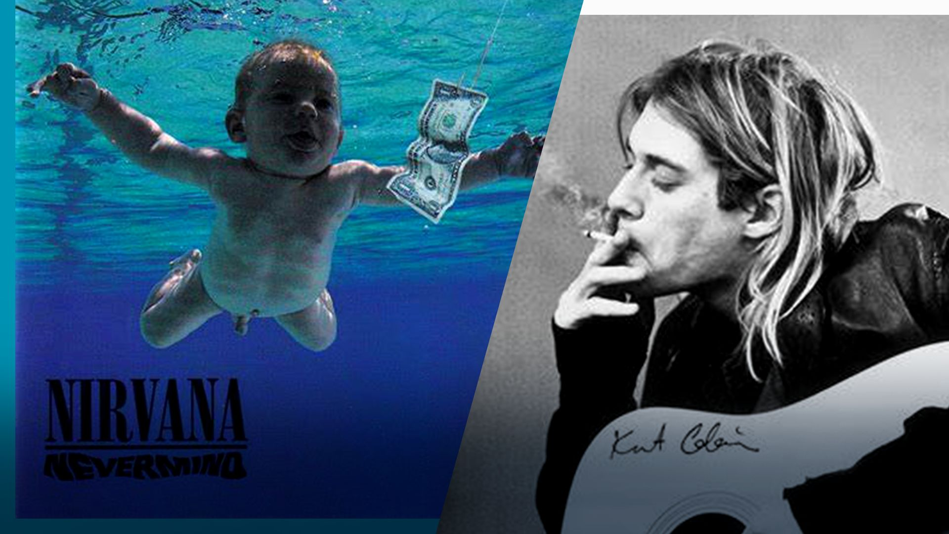 """Мъжът, чиято бебешка снимка е на корицата на """"Nevermind"""", съди """"Нирвана"""""""