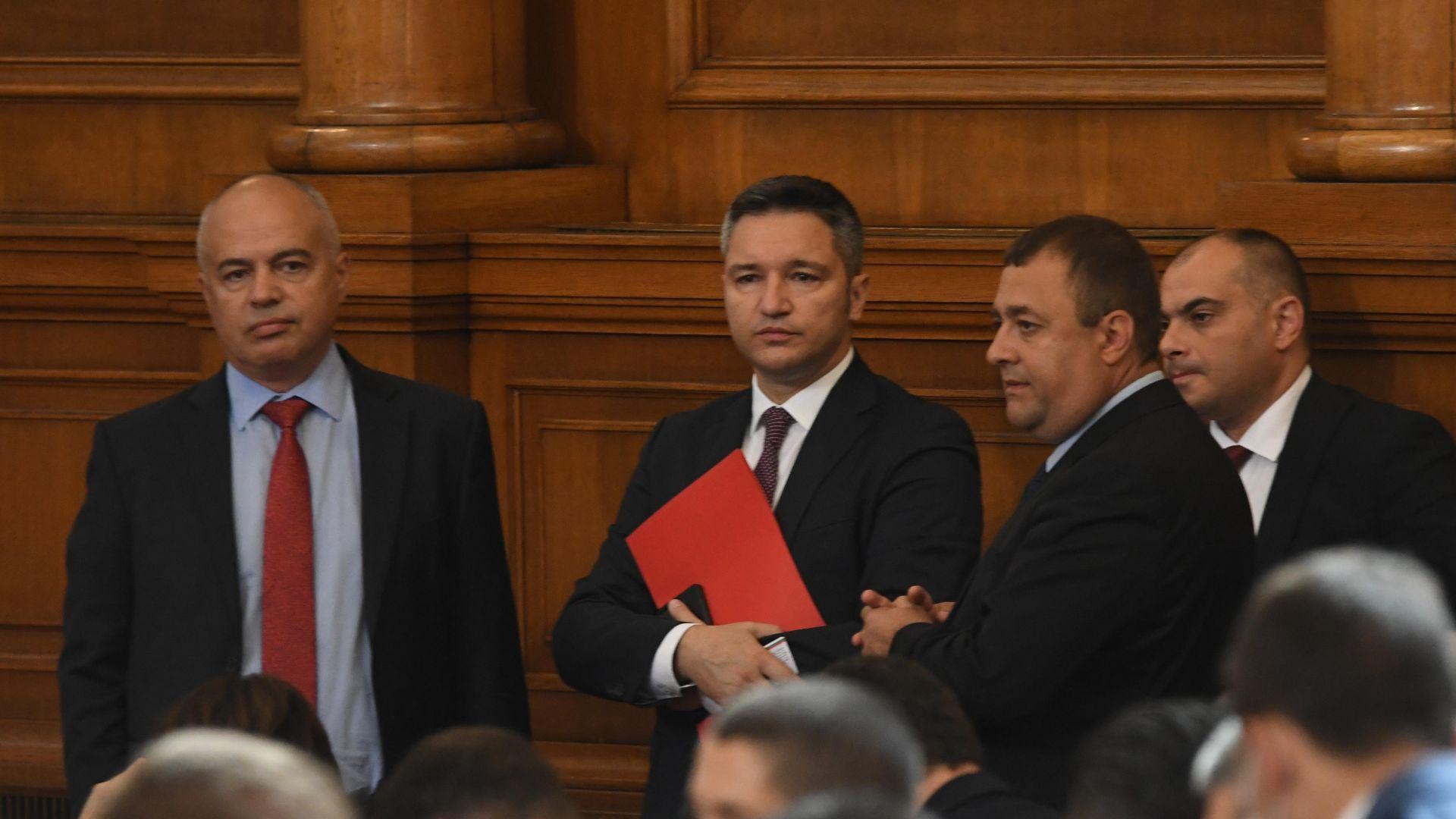 БСП: Румен Радев да каже подкрепя ли новия политически проект на министрите си