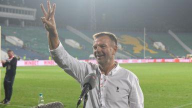 Щастливият Стойчо Младенов: Армейският дух се завърна в ЦСКА