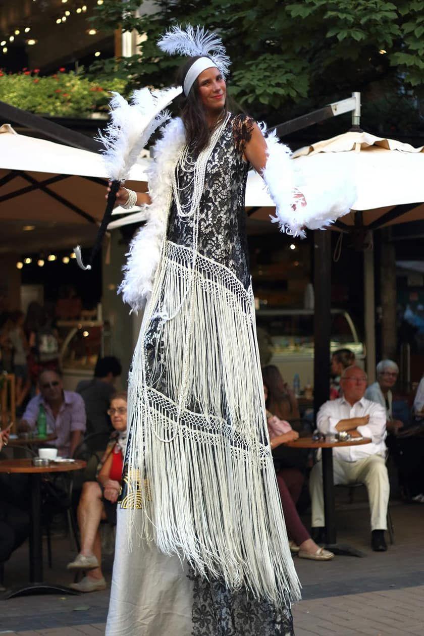 Силвия по време на фестивал