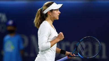 Вики Томова е на четвъртфинал във Валенсия и гледа към топ 100