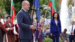 Румен Радев: Народът е съдникът в политиката, трябва с непреклонност да покаже пътя