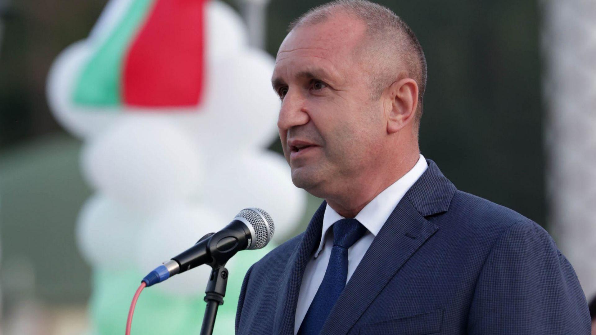 Радев: Борисов обвинява президентството в диктатура, да спечели изборите и да внесе демокрация (видео)