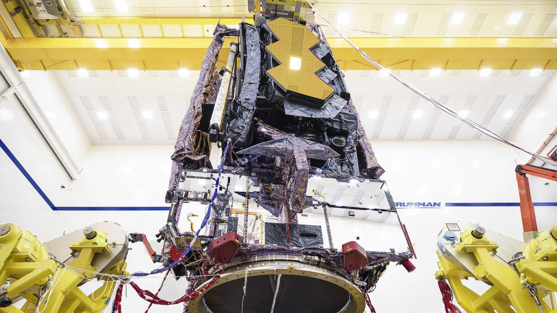 """Телескопът """"Джеймс Уеб"""" е готов за изстрелване в Космоса"""