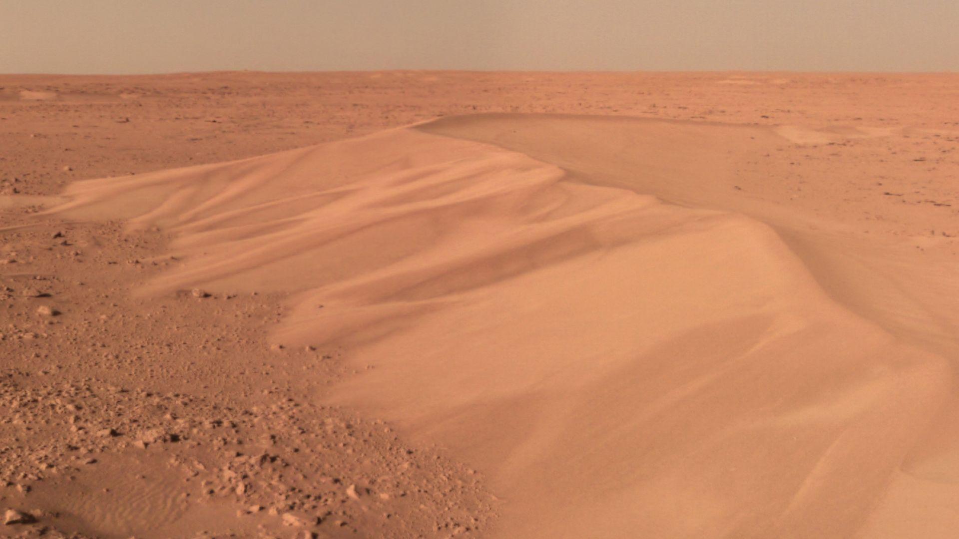Китай пусна нови снимки от Марс