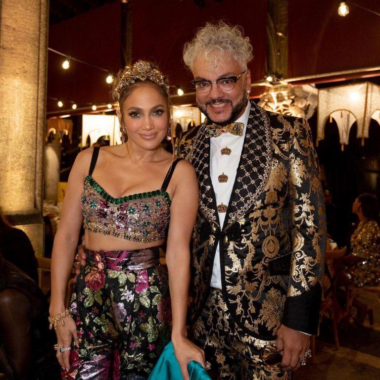 Dolce & Gabbana събраха Джей Ло с Филип Киркоров и още куп звезди