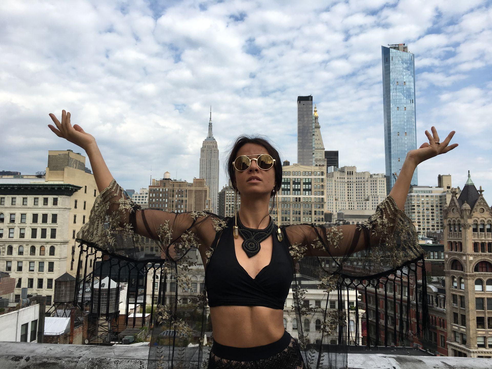 Евгения Радилова пристиха в Ню Йорк преди 15 години