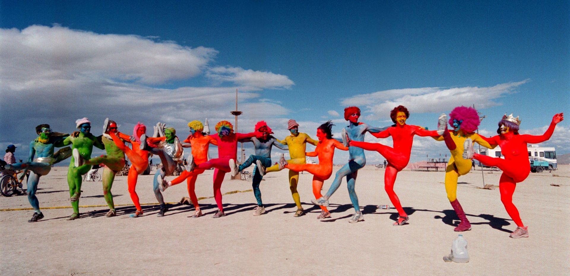 Кадри от фестивала Burning Man 2019  в пустинята Невада