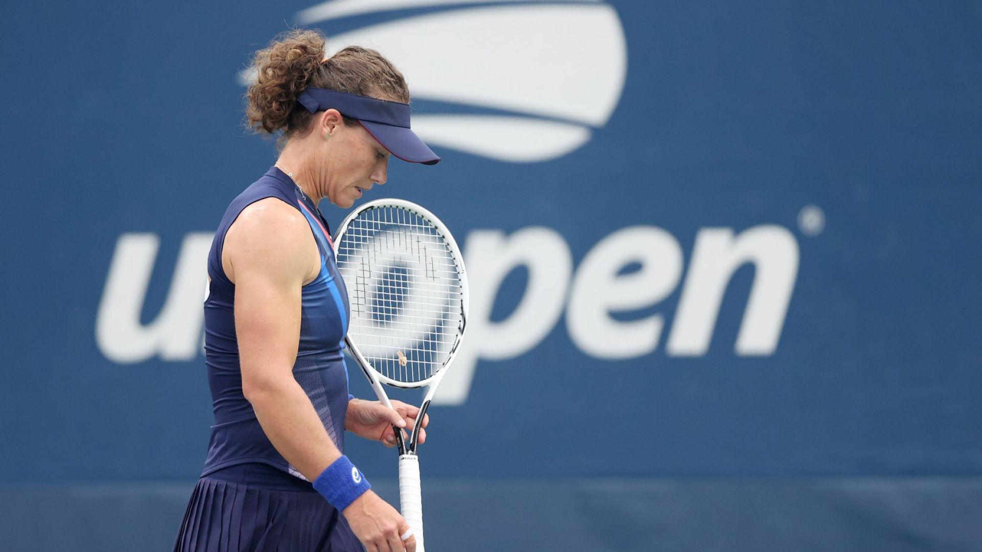 Тежко поражение побутна шампионка на US Open към отказване (Резултати)