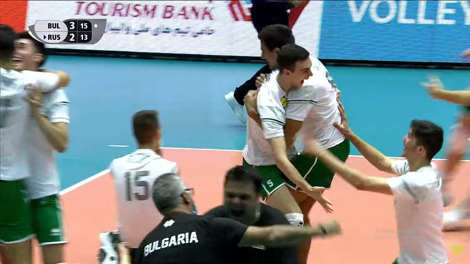 Нова волейболна драма до последно – България победи Русия и е на световния финал! (Видео)