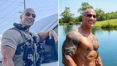 Двойник на Скалата използва приликата си с него, за да помогне на болен колега полицай