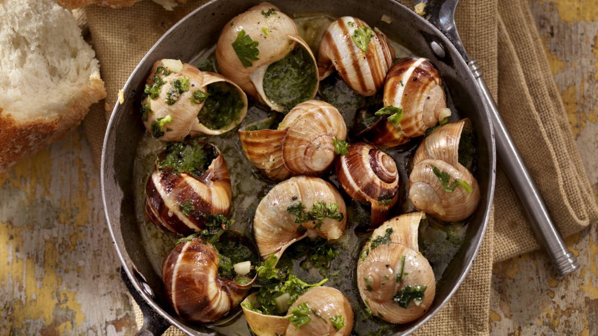 Защо французите ядат охлюви (и как да ги ядете правилно)?