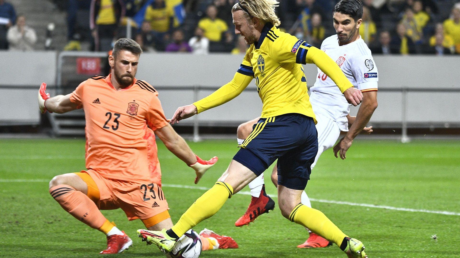 Швеция удари Испания, а Бундестимът се мъчи в първия мач след ерата Льов (резултати)