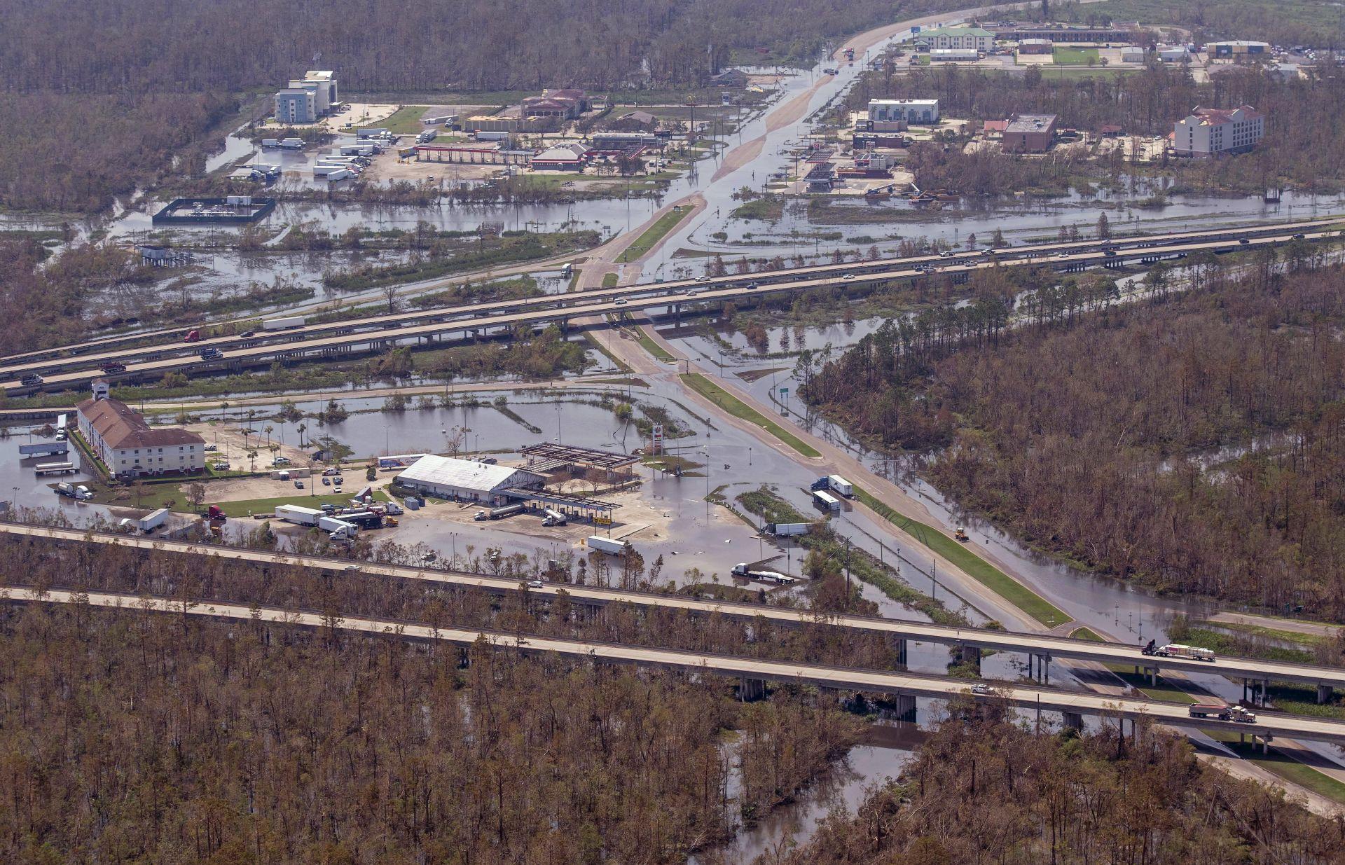 Потопът в Луизиана