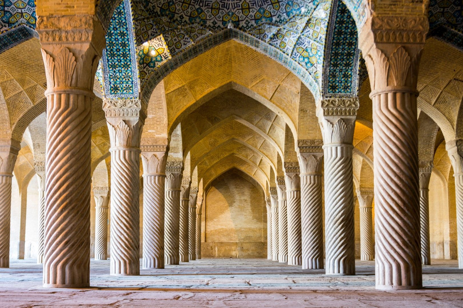 """Джамията """"Вакил"""" в Шираз"""