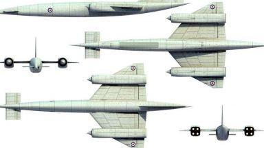 Великобритания и прототипът на най-бързия шпионски самолет
