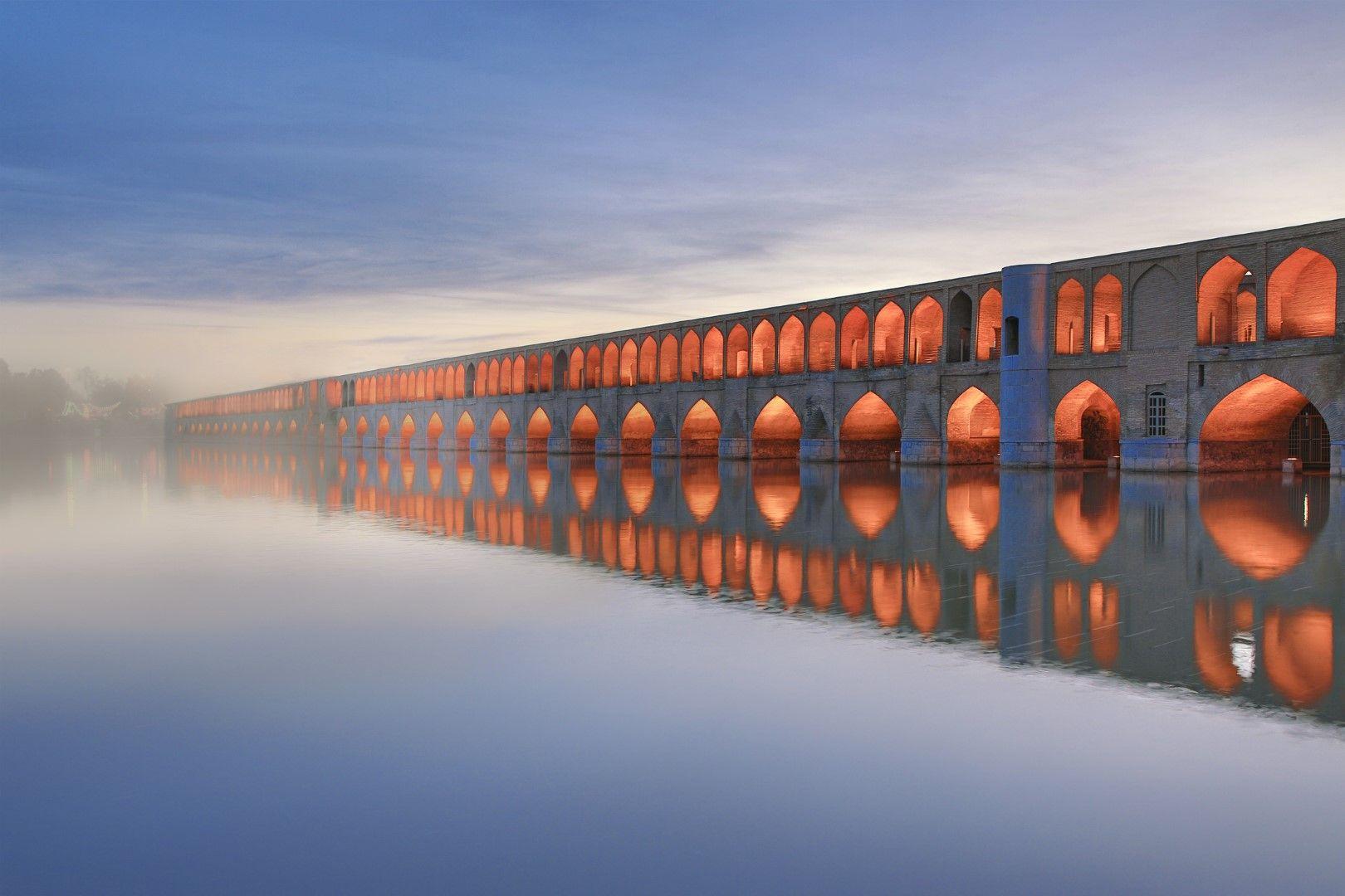 Историческият мост Сиосепол в Исфахан
