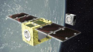 Компания представи спътник за чистене на космически боклук