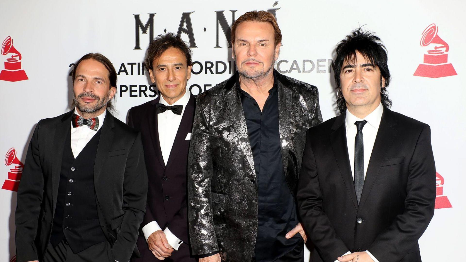 """Група Maná ще получи приза """"Икона"""" на наградите за латино музика на Billboard"""
