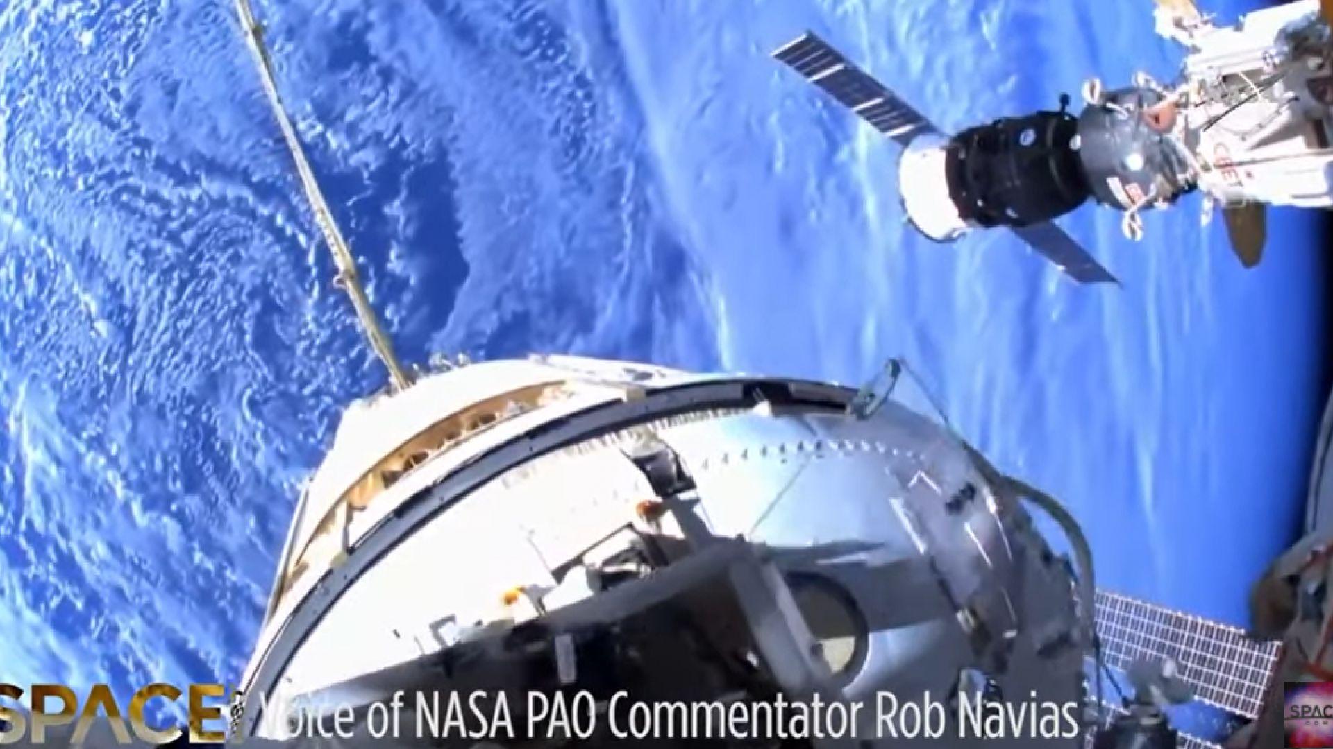 Завърши излизането на двама руски космонавти в открития космос (видео)