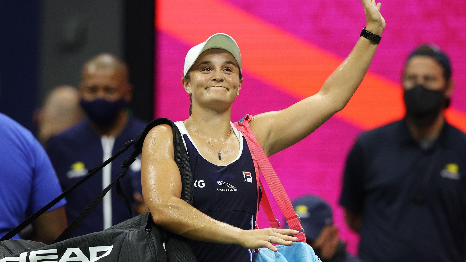 Световната №1 Барти се сгромоляса и отпадна от US Open (резултати)